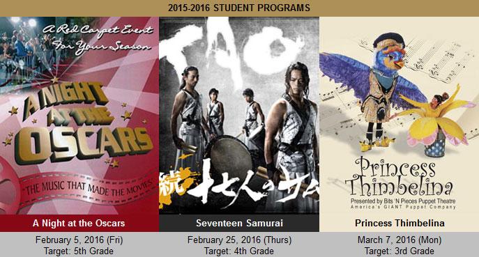 2015-2016 Student Programs