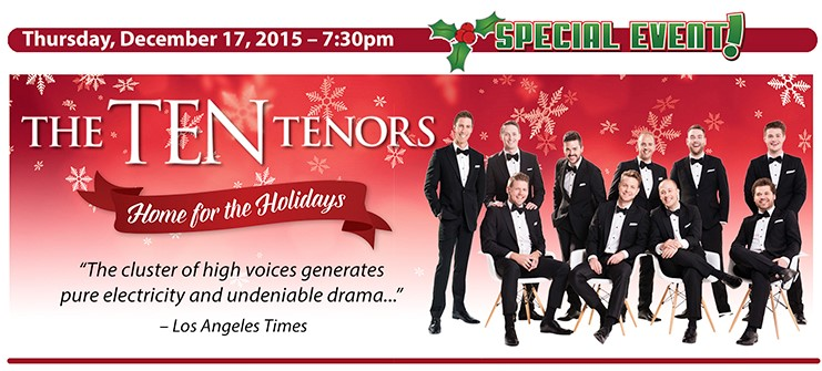 2015 Special Event - The Ten Tenors