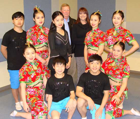 The Boerne Star continues to provide newspaper coverage and support for all Boerne Performing Arts events. Brian Cartwright, Editor and Publisher, and his wife, Dayna, were backstage prior to the exuberant performance by these young performers from China. The Boerne Star has featured stories about the visiting artists that provide readers special insight into the touring schedule and life of world-class performing artists, and has provided support to Boerne Performing Arts for all four seasons.