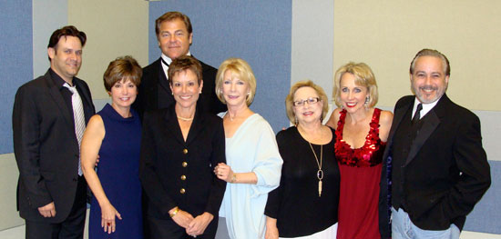 Cordillera Ranch sponsored 102 Years of Broadway…their fourth season to sponsor a Boerne Performing Arts event. Residents of Cordillera in attendance were (left to right): Donna Biddle, Becky Gross, Carla Northington, and Kay Johnson. Cast members on left are Ricky Adams (Phantom), Chuck Wagner (Jekyll & Hyde) and on right are Carter Calvert (Always Patsy Cline) and Danny Zolli (Jesus Christ Superstar).