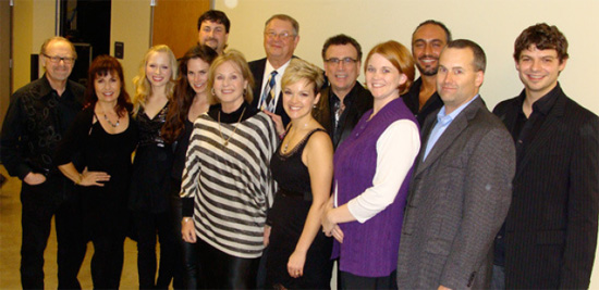 Kendall County Economic Development Corporation sponsored the 2012 Inaugural Season in addition to providing office/meeting space throughout the year for Boerne Performing Arts. Pictured above are Dan Rogers and his wife Jana, and Melissa Milton and her husband Mark.