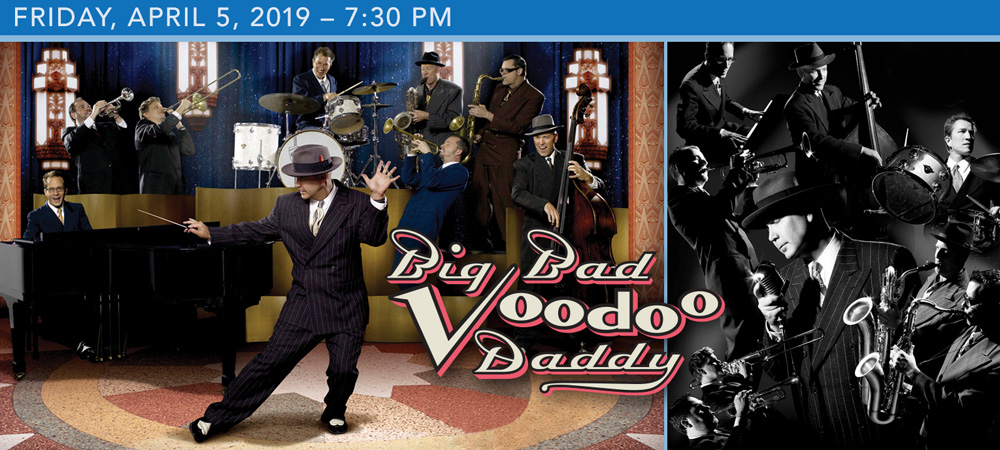 Big Bad Voodoo Daddy at Boerne Performing Arts on Friday, April 5, 2019 at 7:30 PM