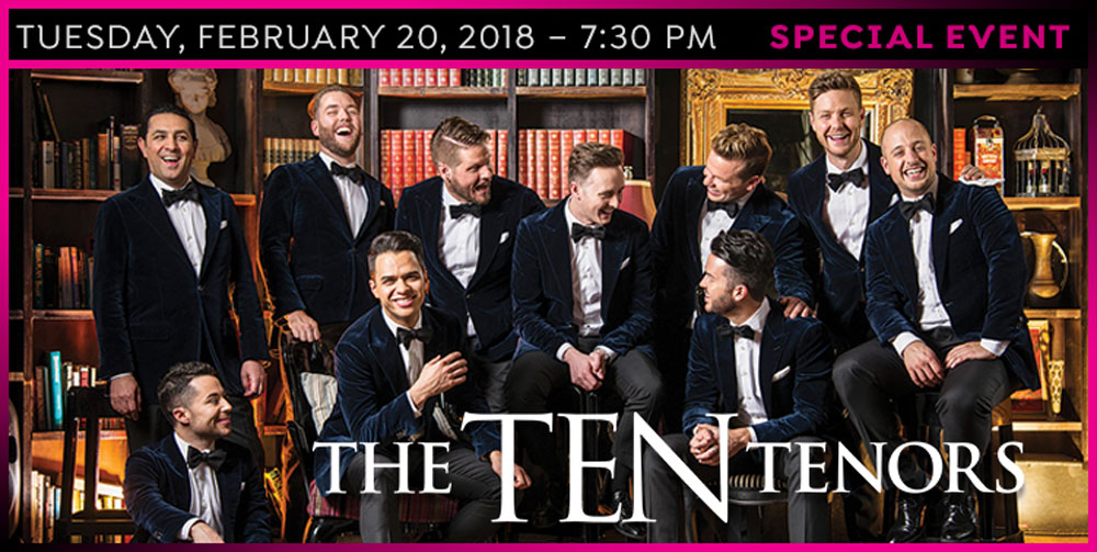2018 Special Event - The Ten Tenors