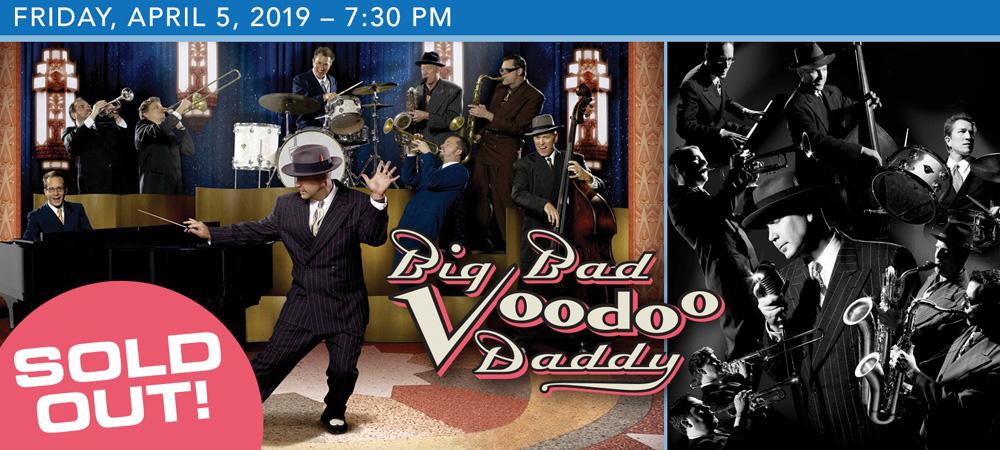 Big Bad Voodoo Daddy at Boerne Performing Arts on Friday, April 5, 2019 at 7:30 PM