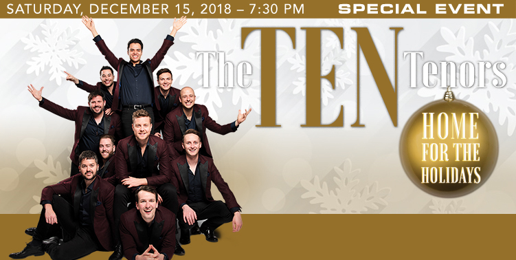 History - 2019 Special Event - The Ten Tenors