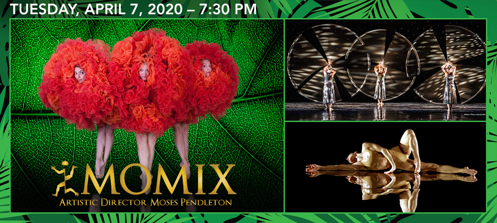 Momix at Boerne Performing Arts on Tuesday, April 7, 2020 @ 7:30pm