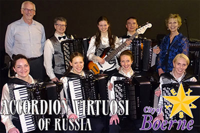 2018 - Accordion Virtuosi of Russia - City of Boerne