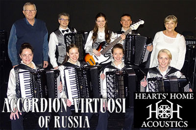 2018 - Accordion Virtuosi of Russia - Hearts' Home Acoustics