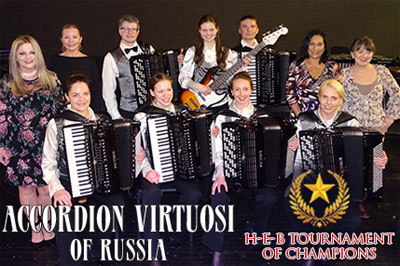 2018 - Accordion Virtuosi of Russia - HEB Tournament of Champions