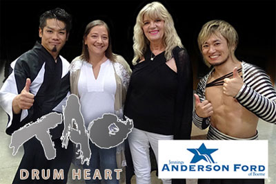 2018 - TAO Drum Heart - Anderson Ford