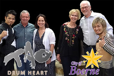 2018 - TAO Drum Heart - City of Boerne