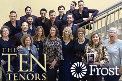 2018 - The Ten Tenors - Frost