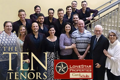 2018 - The Ten Tenors - LoneStar Properties