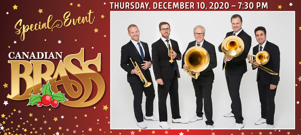 Special Event: Canadian Brass - Dec 10, 2020