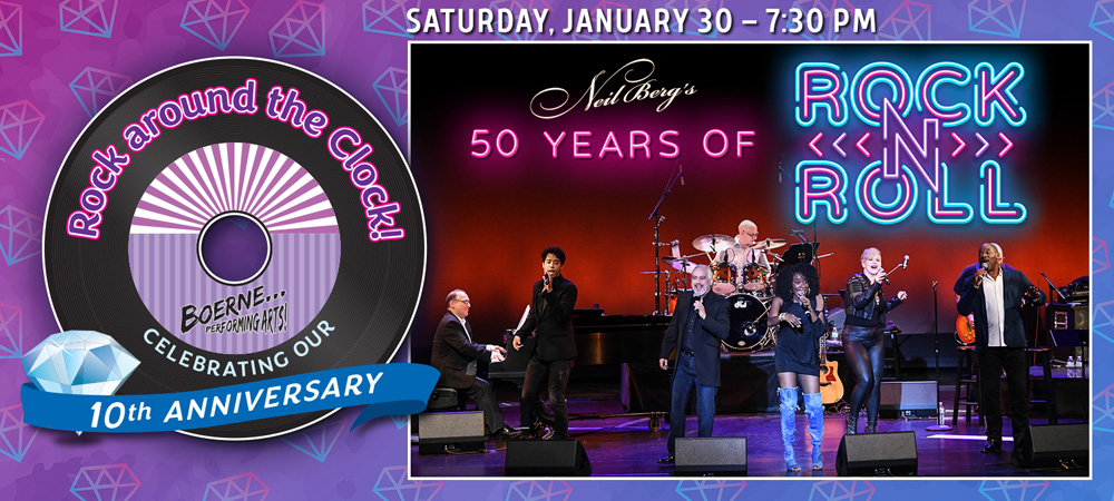 Neil Berg's 50 Years of Rock 'N Roll - Jan 30, 2021