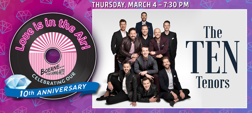The TEN Tenors - Mar 4, 2021