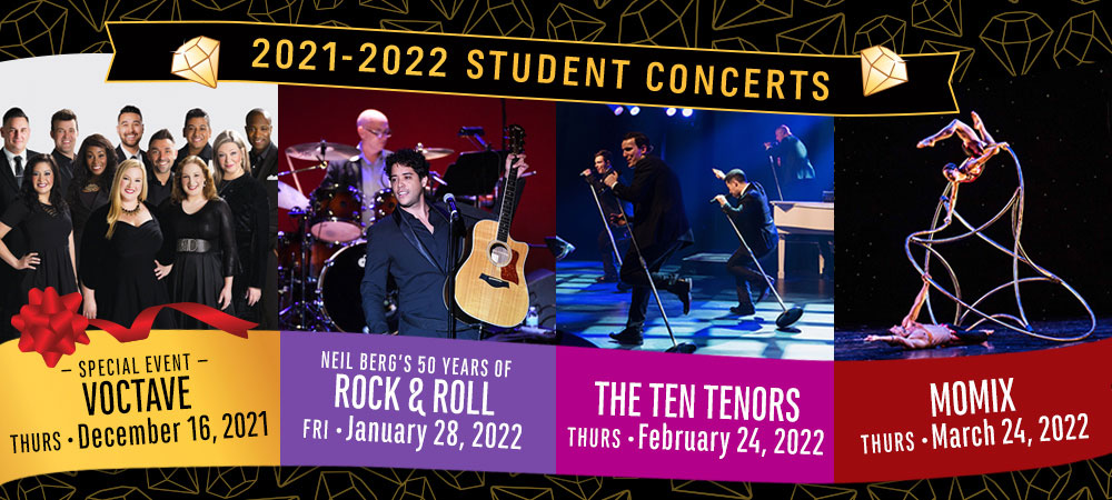 2021-2022 Student Concerts