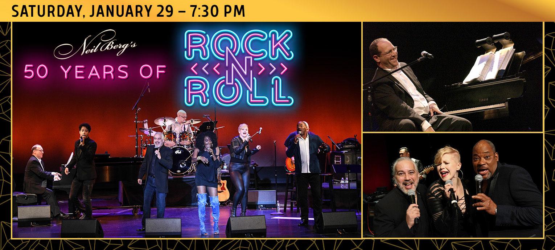 Neil Berg's 50 Years of Rock & Roll - Jan. 29, 2022