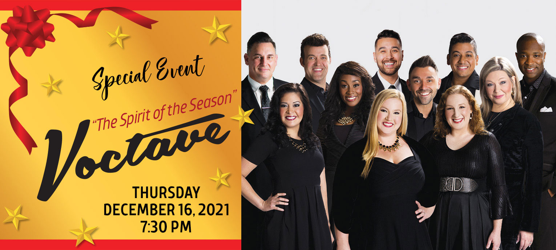 Special Event: Voctave - December 16, 2021